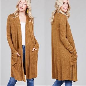 30% OFF 2/MORE Sweater Cardigan with Pockets